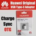 Ap52 pc + pbt 100% tipo c adaptador micro usb com otg usb original para huawei p9 plus, nova, mate 9, honor 8, v8, nota 8