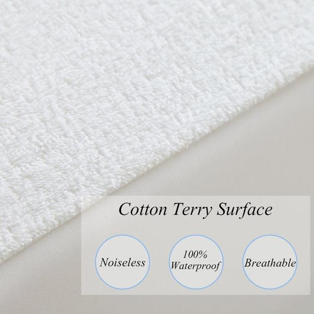LFH 120X200CM Terry Waterproof Mattress Protector Hypoallergenic Breathable  Mattress Cover For Foam Mattress Pad Bed Bug Sheet