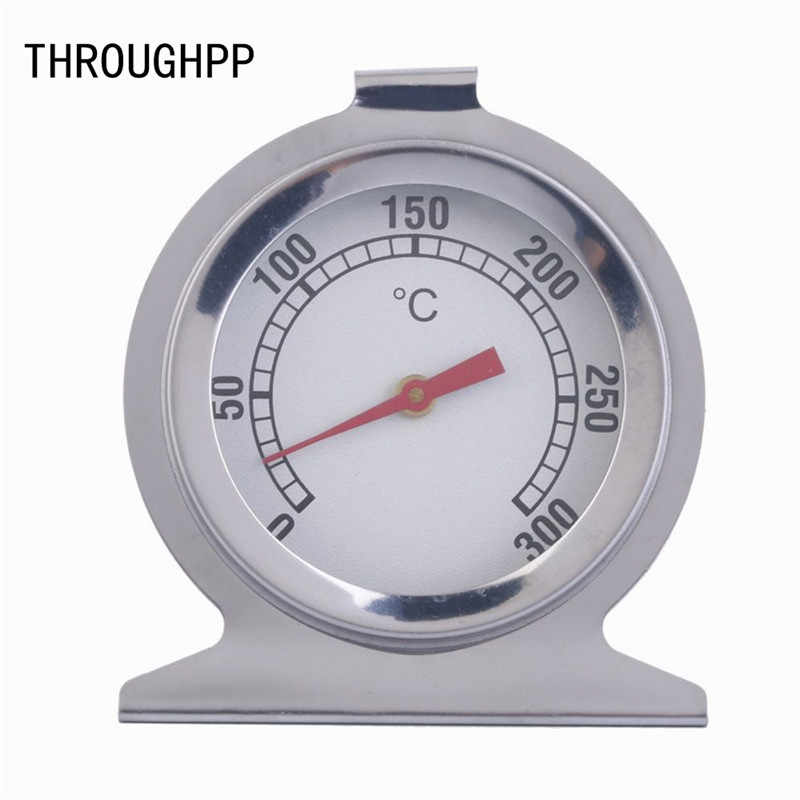 1Pc Stainless Steel Oven Cooker Thermometer Temperature Gauge Kitchen Thermometer For Food Meat Temperature Measuring Meter