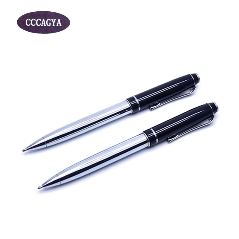 CCCAGYA C001 kuličkové pero metalické luxusní vysoce kvalitní kancelářské a školní pero Psací potřeby pero 0,7 mm G2 424 Dárkové pero