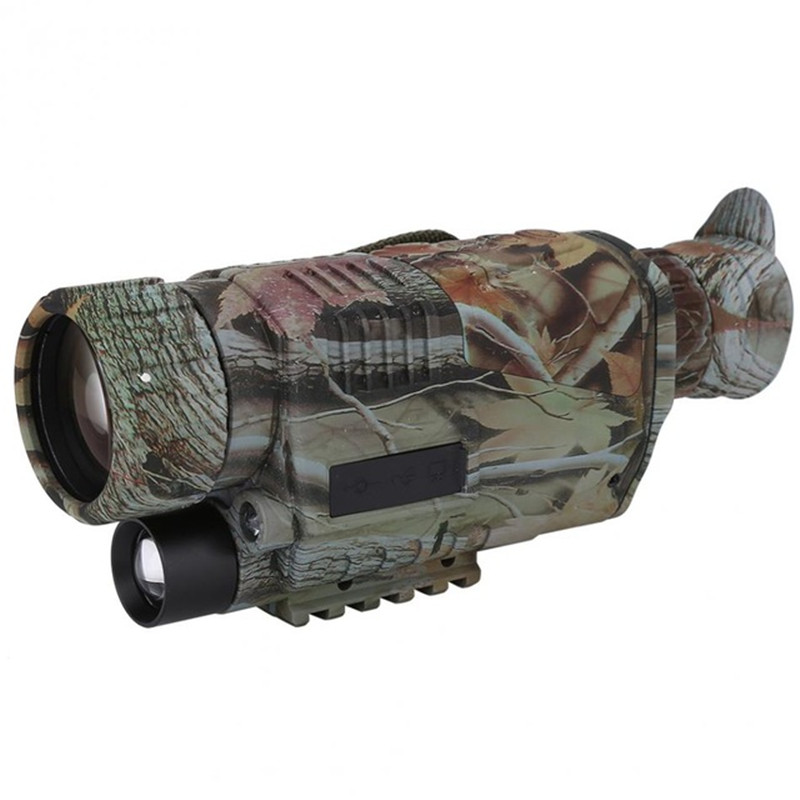 Digital HD 200M Hunting Monocular Camouflage Night Vision Outdoor Hunting Telescope Wild Viewing Hunting Infrared Monocular