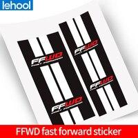 FFWD Hubs stickers  bicycle wheels hubs  decals