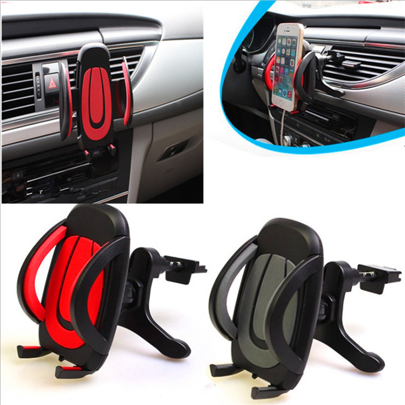 Car Styling Vehicle Mounted Mobile Phone Tuyere Type
