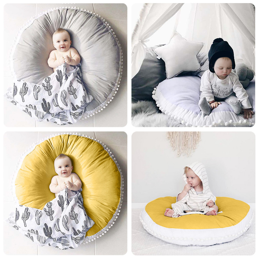 Aliexpress Com Buy Pure Cotton Baby Play Mat Thickened