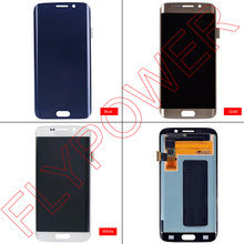 For Samsung Galaxy S6 Edge G925 G925f lcd display with touch screen digitizer assembly by free