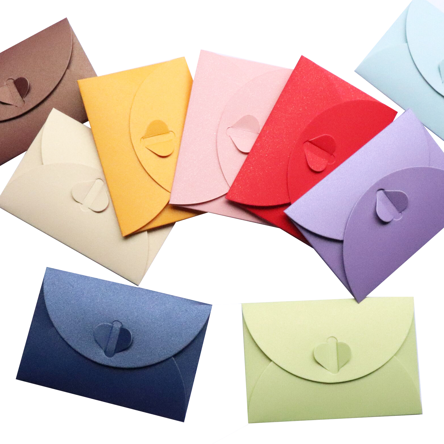(10 Pieces/lot) 15.5*10.5cm Colorful Vintage Envelope Pearl Paper Envelopes Gift Greeting Card Invitation Card Letter Envelopes