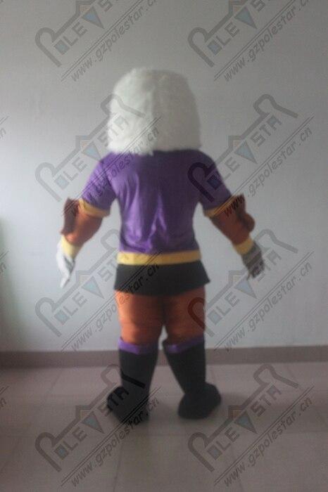 Violet muscle mascotte d'aigle costumes power bird costumes de mascotte Vautour condor - 4