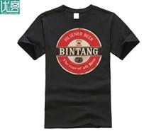 2019 New Summer Tee Shirt Funny T SHIRT Funny BEER PILSENER INDONESIA JAKARTA NATIONAL RETRO LOOK Custom T-shirt jakarta pitfalls