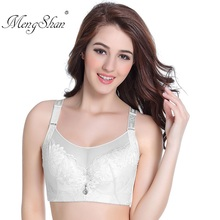 Large and thin bra wipe big size Lace-edged underwear women biustonosz Gather the cups together sujetador mujer 105D 105E