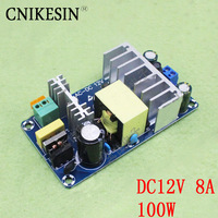 CNIKESIN 12V High Power Switching Power Supply Board AC DC Power Module 12V8A Switching Power Supply