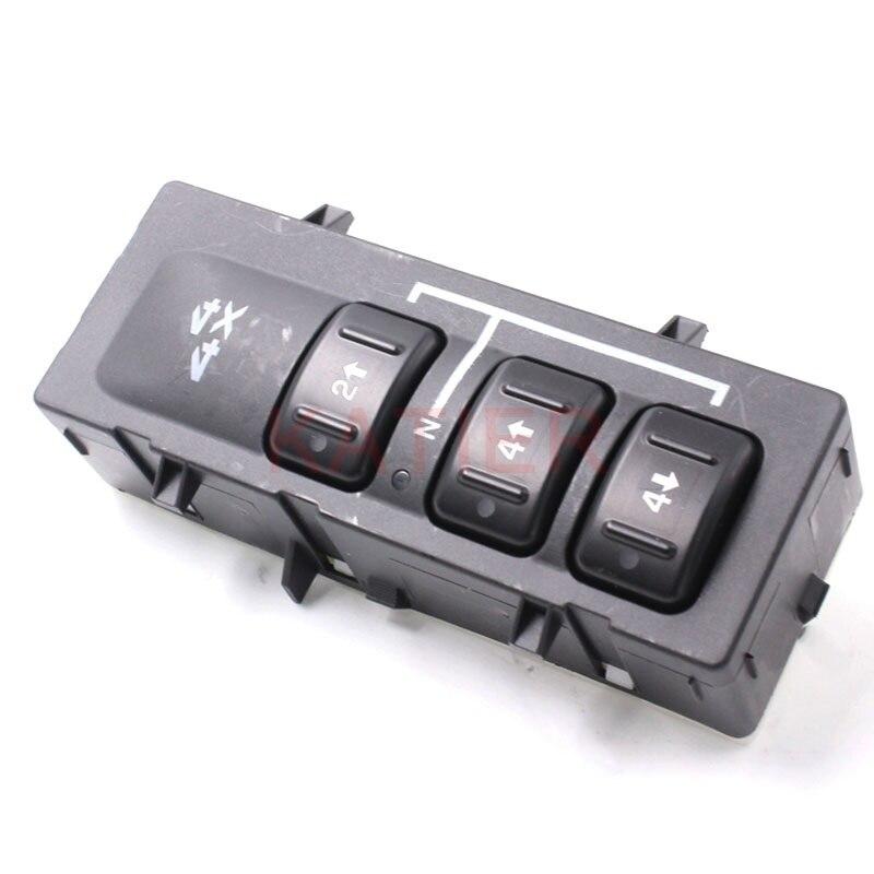 4WD Transfer Case Switch Fit for GMC Sierra 2500 HD Classic SL SLE 3500 15136040 19259312 DORMAN 901-053