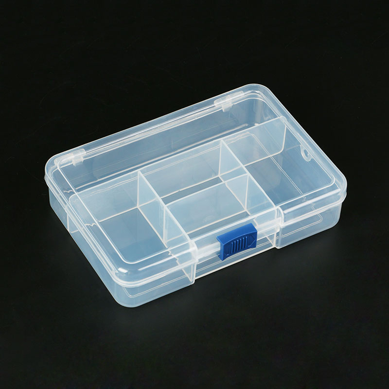 Electronic Plastic Container Box For Tools Case SMD SMT Screw Sewing PP Transparent Pink Blue Component Storage Box