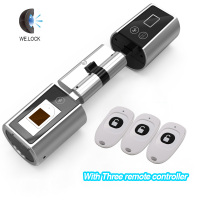 We Lock Cylinder Lock biometric fingerprint door lock electronic door lock for home office