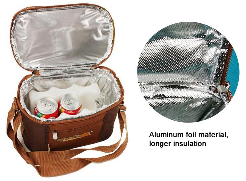 Multifunction bag refrigerator portable cutlery bag -18