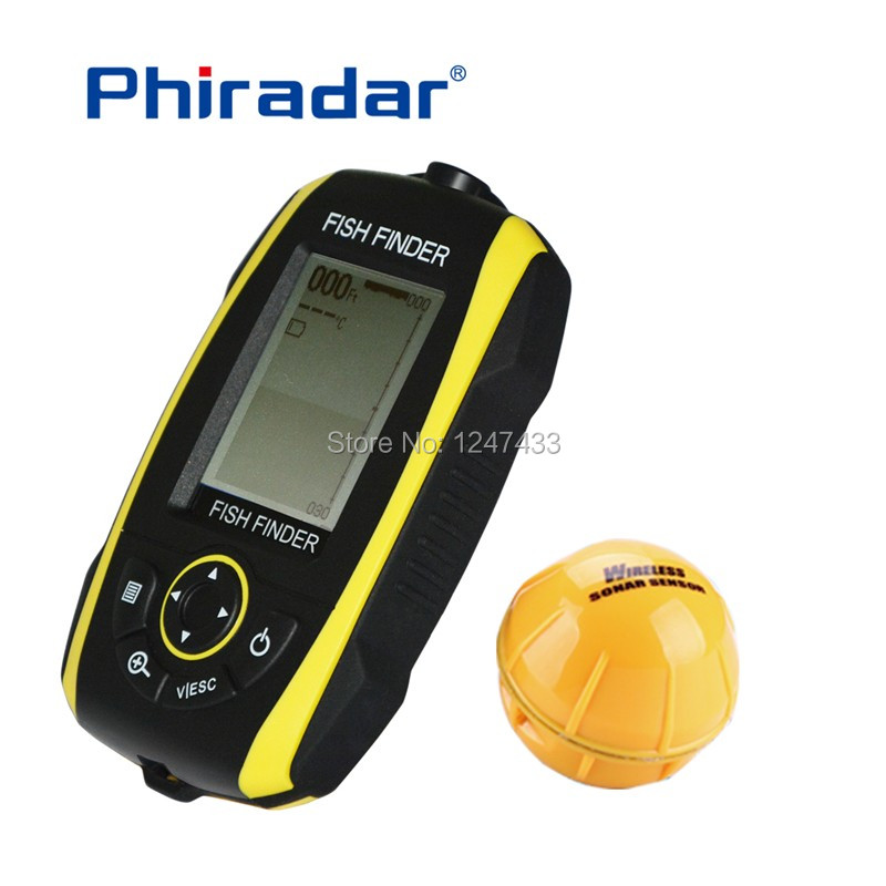SFF268W Wireless fish finder (7)
