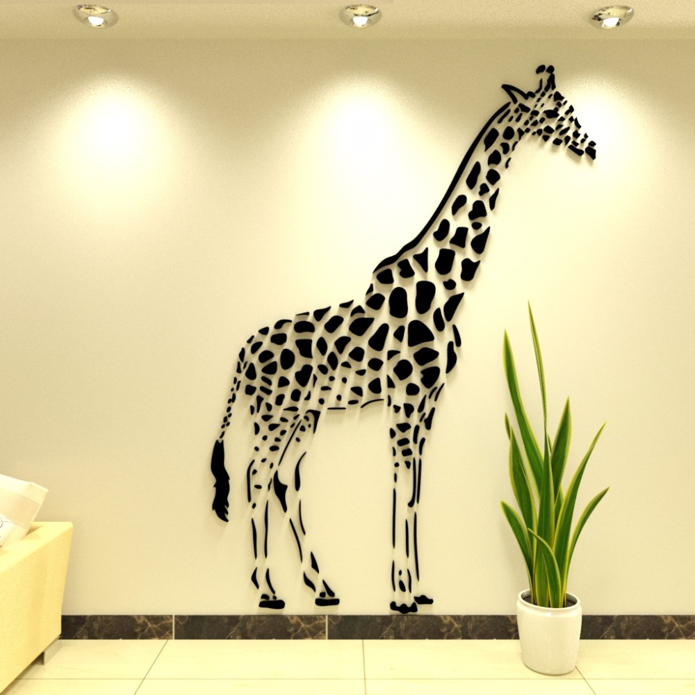 Aliexpress Com Buy New Arrival 3d Acrylic Wall Stickers Living
