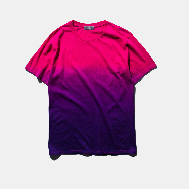 f9f5cada 2018 New Unisex Harajuku Urban Clothing T shirts Tie Dye Colored Gradual  Tshirt Funny T Shirt Tees For Men and Women-in T-Shirts from Men's Clothing  on ...