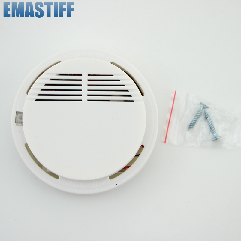 Wireless Smoke/fire Detector smoke alarm for Wireless For Wireless Home Security Auto Dial Alarm System Smog Sensor wireless vibration break breakage glass sensor detector 433mhz for alarm system