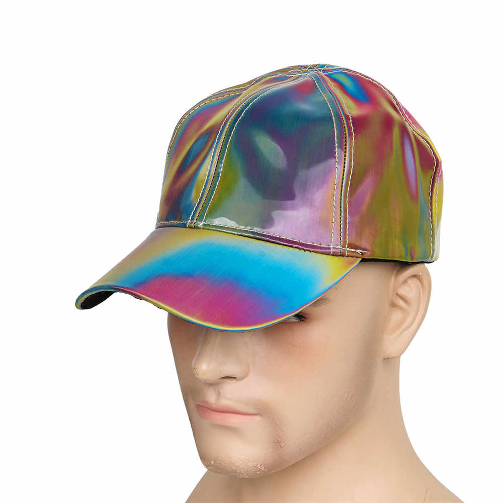 Fashion Marty McFly Licensed for Rainbow Color Changing Hat Cap Back to the Future Props Bigbang G-Dragon Baseball Cap Dad Hat