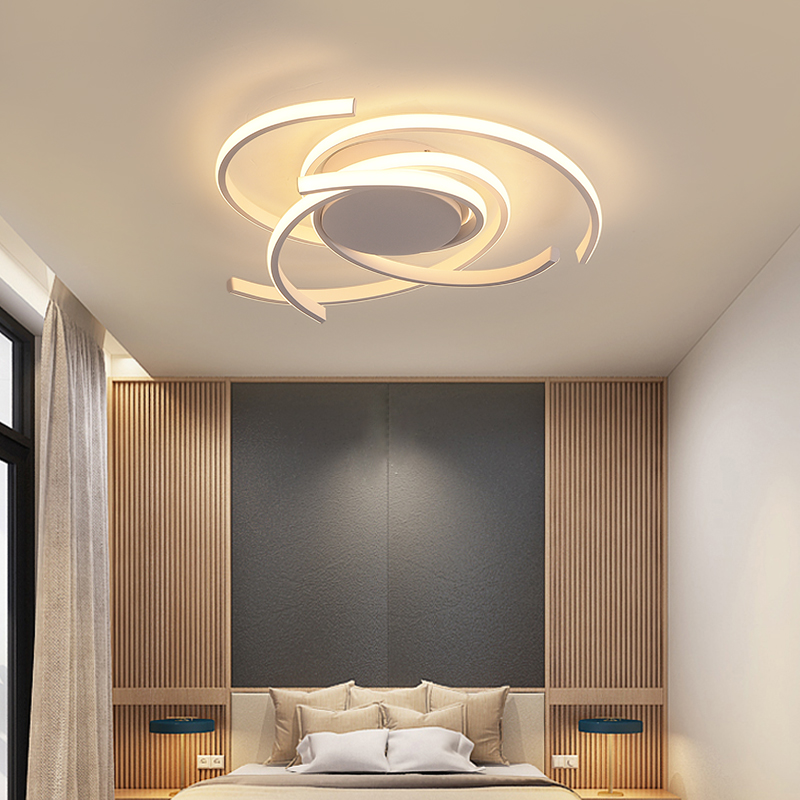 Creative modern led ceiling lights living room bedroom study balcony indoor lighting black white aluminum ceiling Creative modern led ceiling lights living room bedroom study balcony indoor lighting black white aluminum ceiling lamp fixture