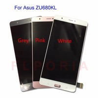 6 8 LCD Display With Touch Screen For Asus ZenFone 3 ZU680KL Digitizer Panel Sensor Lens