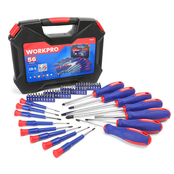 WORKPRO Screwdriver Set 130 PC Screwdrivers Multi Function Screw driver Repair Tools for Phones Precision Screwdrivers 12pcs precision screwdriver set with bits multi function screwdriver repair tools kit support dropshipping