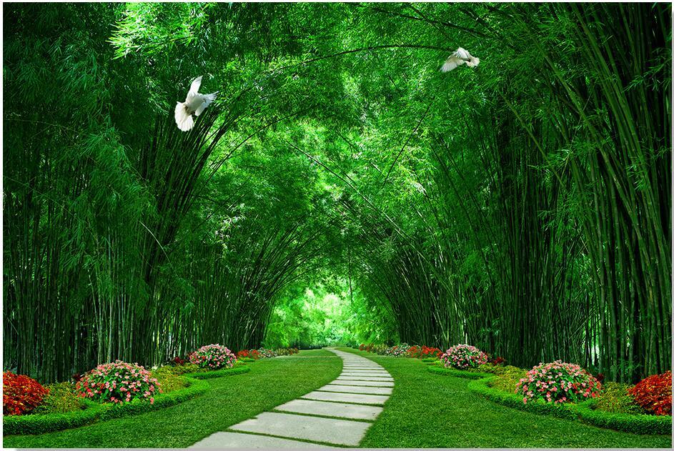 Gambar Taman Hijau - GAMBAR TERBARU HD