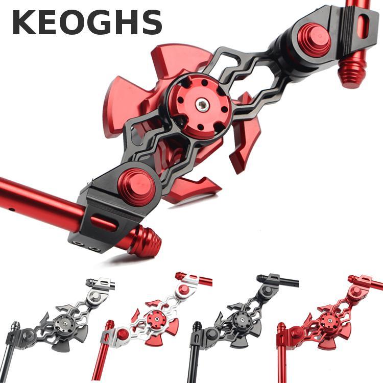Keoghs Motorcycle Modification Handlebar Cnc Aluminum Alloy For Yamaha Scooter Bws Rsz Jog Cygnus Honda Kawasaki Suzuki