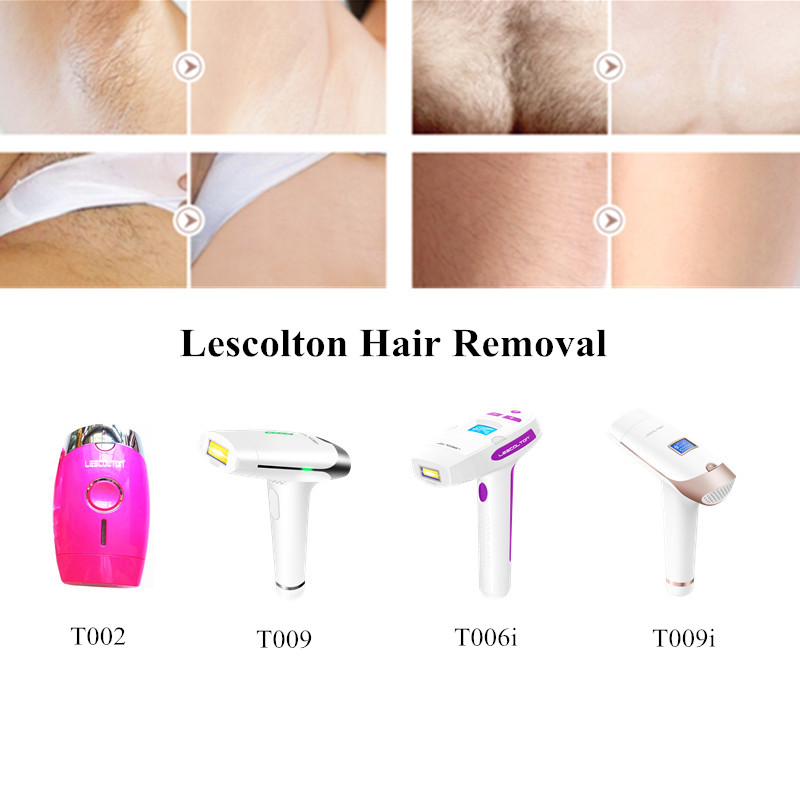 2 In 1 Whole Body Permanent Hair Removal IPL Hair Removal Laser Epilator Device Epilation Tender Skin IPL Lamp 100-240V