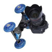 Rail Rolling Track Skater Table Dolly Car 4-Wheel For DSLR Camera Camcorder