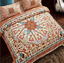 vintage morocco bohemian style 4pcs bedding sets full queen king size duvet cover bed sheets