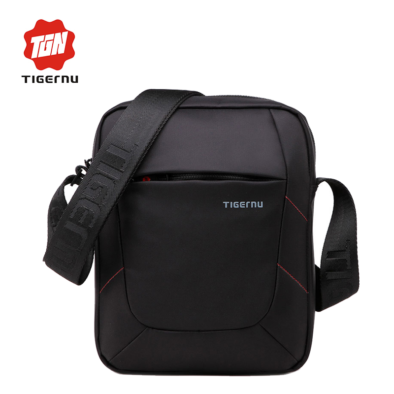 2017 Tigernu Brand crossbody men bag women shoulder bag waterproof Nylon Mini Ipad messenger shoulder strap bag For women
