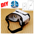 Google Cardboard 2.0 DIY 3D Carton VR Box Virtual Reality Glasses for 3.5 inch - 6 inch iPhone Android Phone