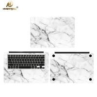 Mimiatrend Weiß Marmorkorn Laptop Aufkleber Aufkleber Haut Fall Für Apple Macbook Air Pro Retina 11 13 15 Zoll Computer aufkleber