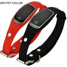 водонепроницаемый gps собака воротник любимчик трекер WIFI GPS LBS местоположение реального времени отслеживания устройства