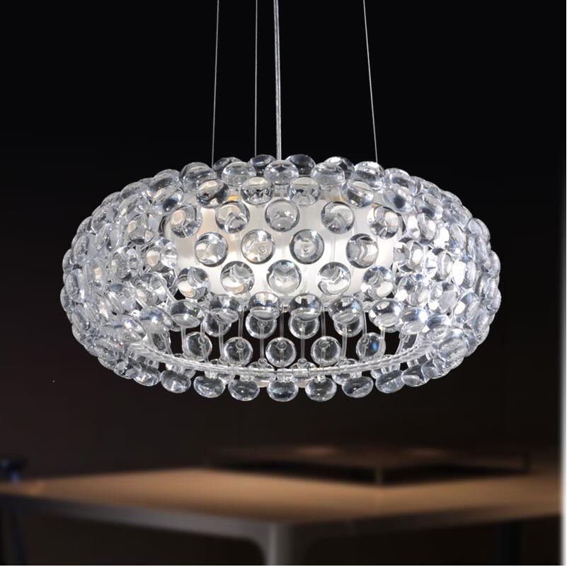 D35/50/65 cm Moderna Sospensione Foscarini Lampada A Sospensione Caboche Sudore Ioni sfera in acrilico lampade a sospensione moderna rustico light fixtures
