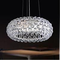 D35/50/65cm Modern Suspension Foscarini Caboche Pendant Lamp Sweat Ion acrylic ball pendant lights modern rustic light fixtures