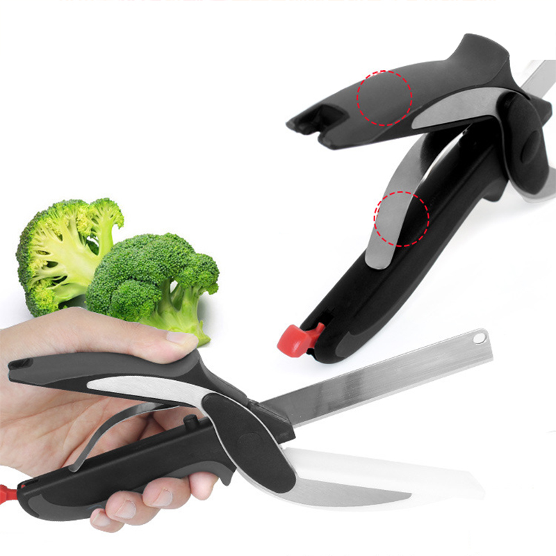 Cleaver Cutter Scissors for Poultry Chicken Fish Meat Vegetable Fruits