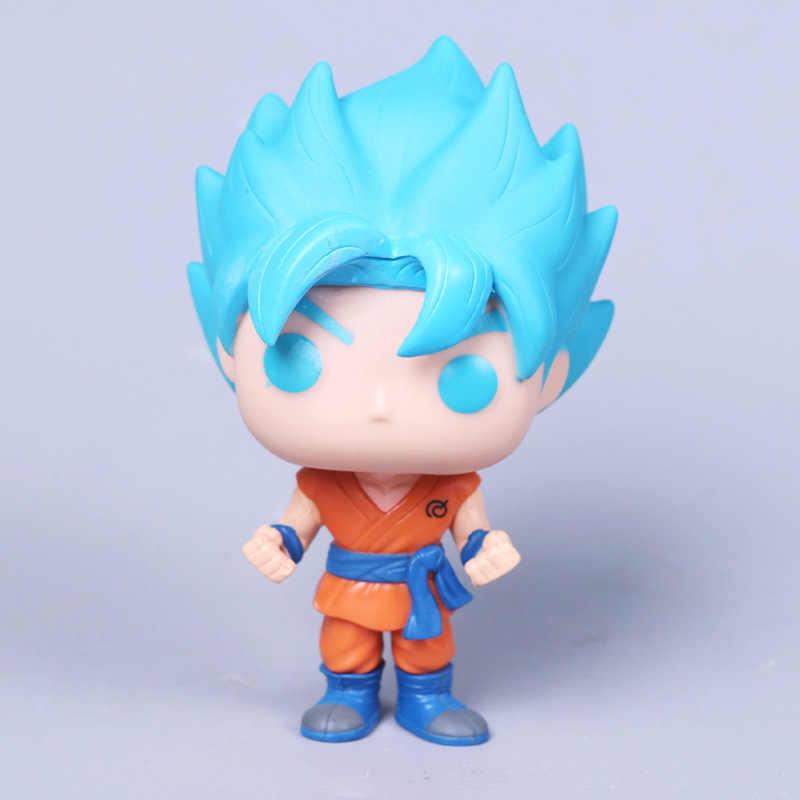 2018 Đồ Chơi Dragon Ball Son Goku Nhân Vật Hành Động Anime Siêu Vegeta Mẫu Búp Bê Nhựa PVC Bộ Sưu Tập Đồ Chơi Dành Cho Trẻ Em Quà Tặng Giáng Sinh