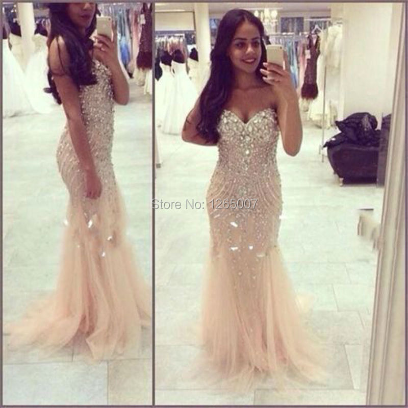 Sparkle Mermaid Prom Dresses