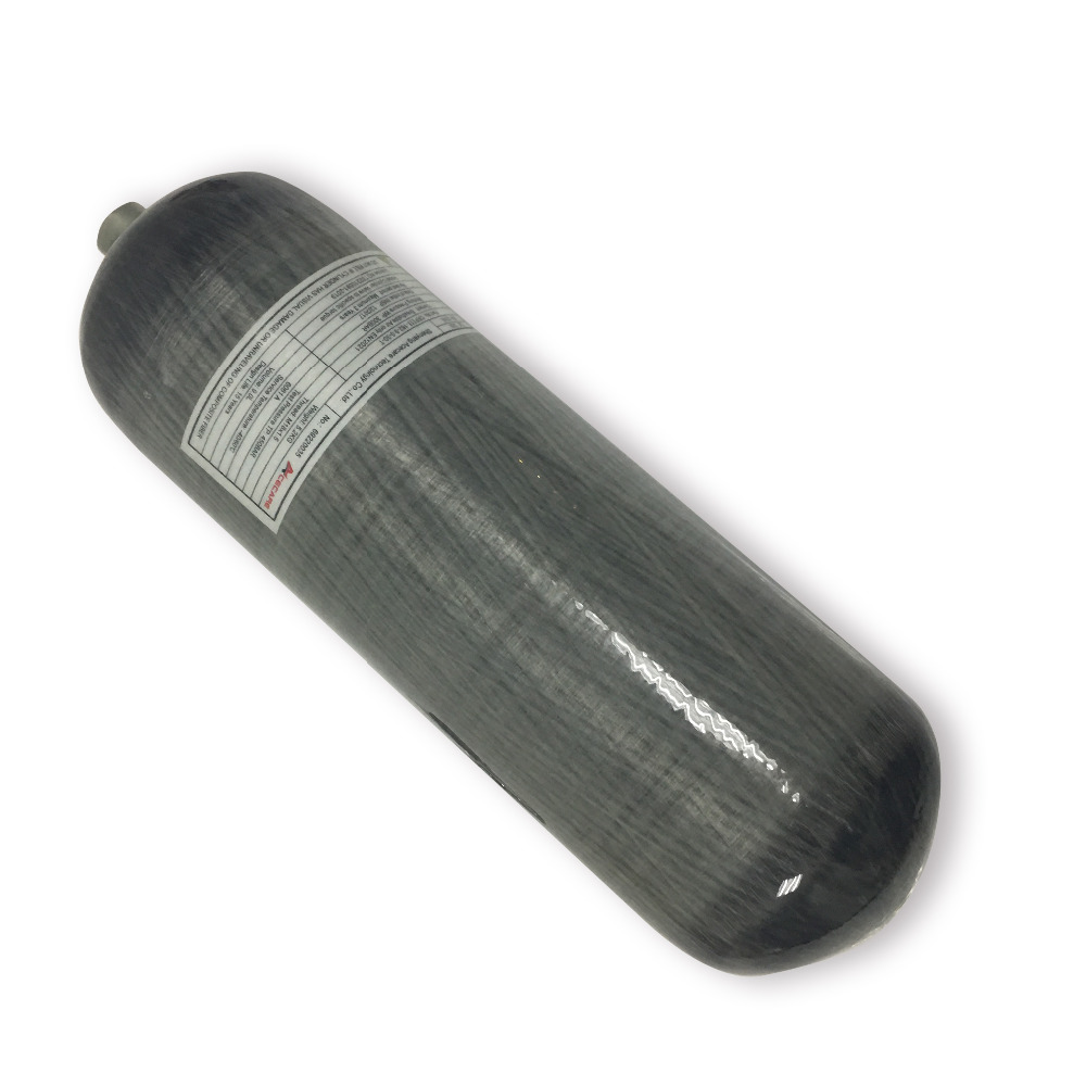 AC1090 9LCE Carbon Fiber Composite Cylinder Diving Air Bottle High Pressure For PCP Air Gun Condor Pcp Drop Shipping Acecare
