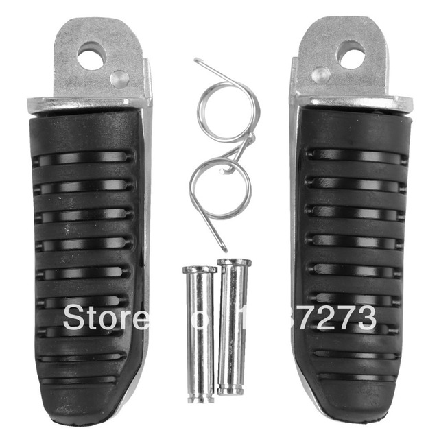 Front Footrest Foot Pegs For Suzuki GSF1200 BANDIT GSF1200S GSF 1200 1200S