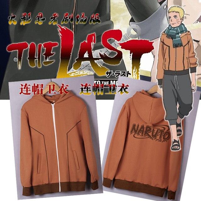 New Spring Autumn Anime Uzumaki Naruto Cosplay Costume Naruto Hoodie Coat Jacket Fashion Men Women Zipper Hooded Sweatshirt