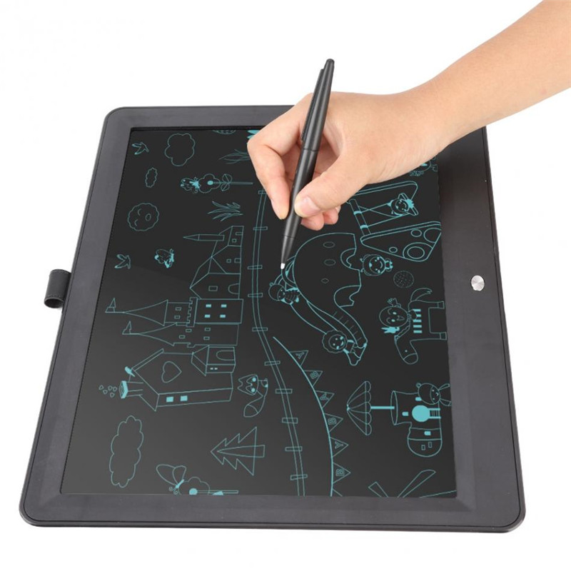 Drawing Toys 15 inch Portable Ultra Thin LCD Writing Tablet Gifts for Kids Office Writing Handwriting