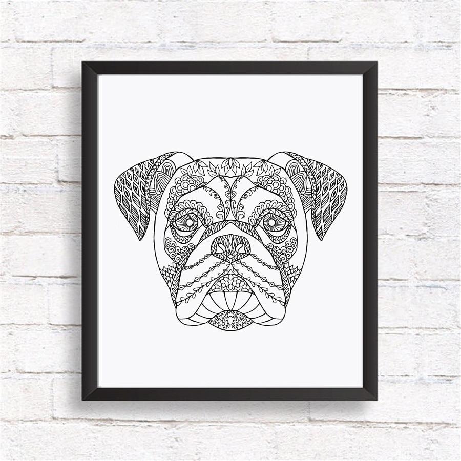 basset hound Hund 20x25 Kunstdruck Aquarell Poster Art Print