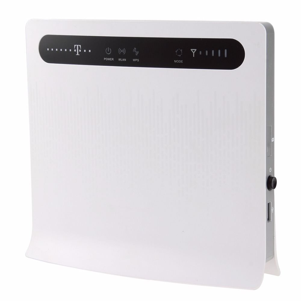 Huawei B593u-12 Unlocked 4G LTE CPE Industrial WiFi Router, Sign Random Delivery