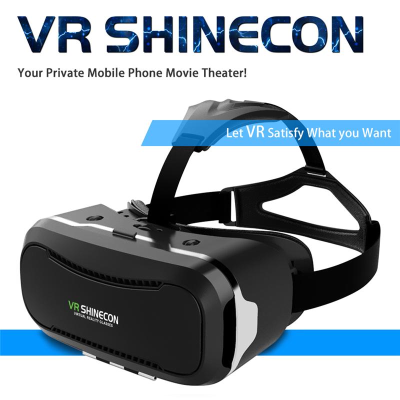 Original Shinecon VR Box 2.0 Google Cardboard Virtual Reality Smartphone Goggles Glasses Headset With Mocute Bluetooth Gamepad 1