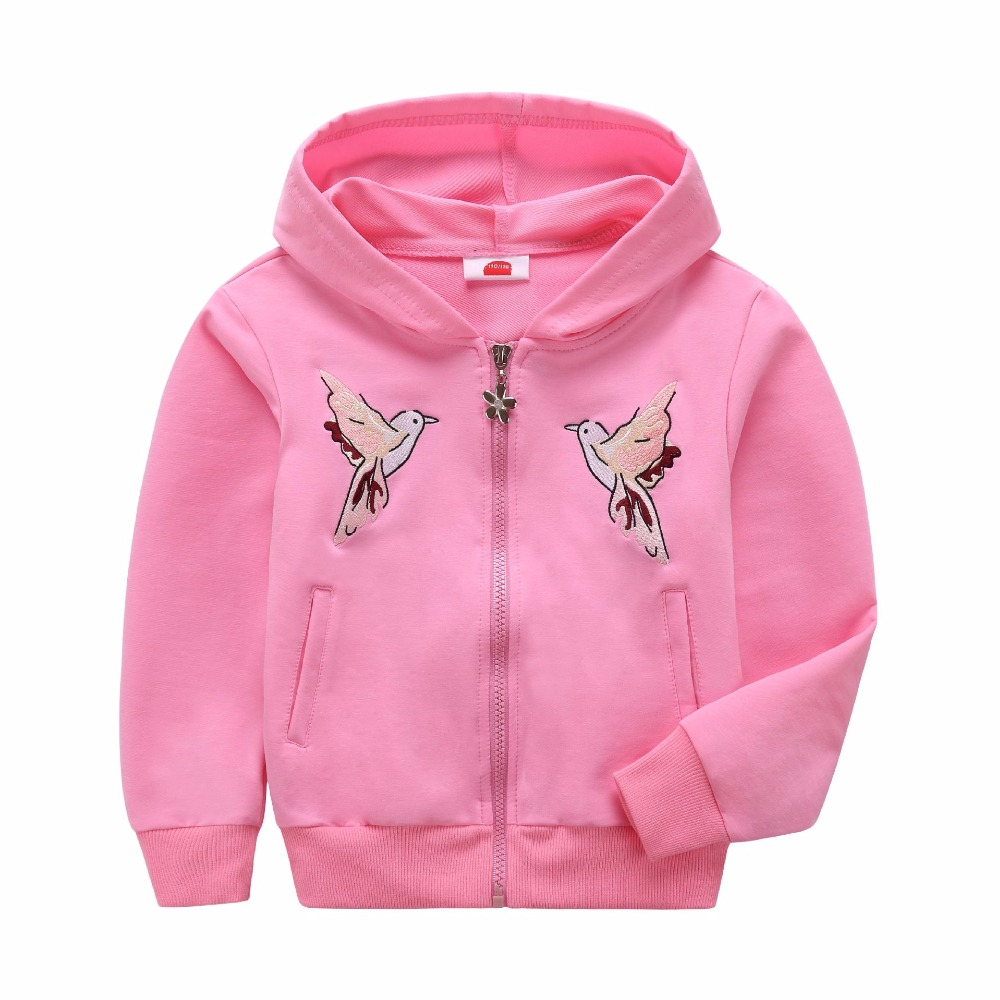 Warm Cotton Baby Boys Girls Hoodies Windproof Child Coat Children Outerwear Clothing Sweatshirts For 3-12 Years Old