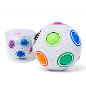 2019 New Magic Ball Toy Fidget Rainbow Puzzle Magic Balls For Concentration Kids Gift