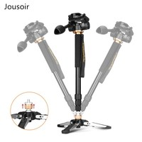 Q158 3 in 1 Aluminum Professional Monopod Camera Video tripod Stand with Carry Bag CD50